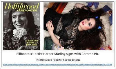 Harper Starling on Hollywood Reporter